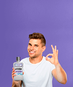 LISTERINE® three habits whitening