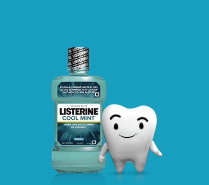 muelita + producto Listerine®