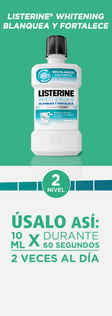 LISTERINE® Whitening Blanquea y Fortalece