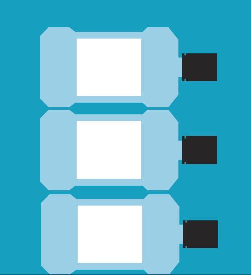 Iconos de 3 botellas de LISTERINE®