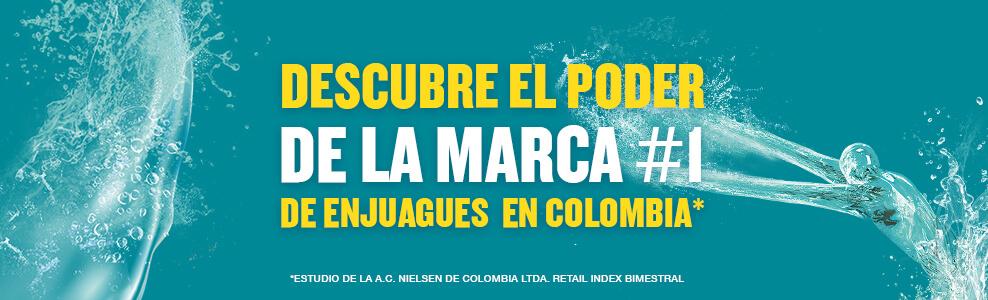 Descubre el poder de la marca #1 de enjuagues en Colombia