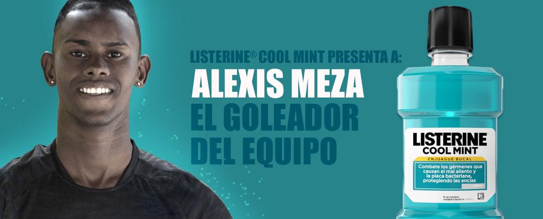 LISTERINE® Cool Mint presenta a: El goleador del equipo
