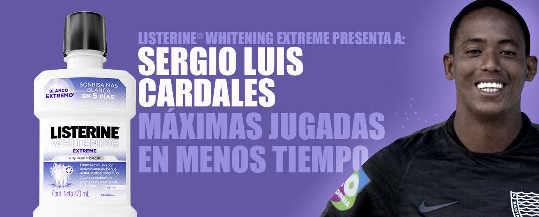 LISTERINE® Extreme presenta a: Sergio Cardales. Máximas jugadas en menos tiempo