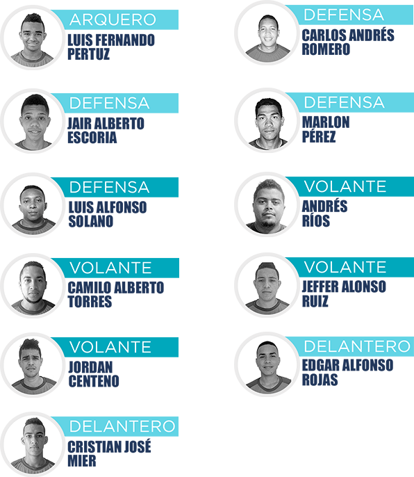 Formación Los Galácticos FC