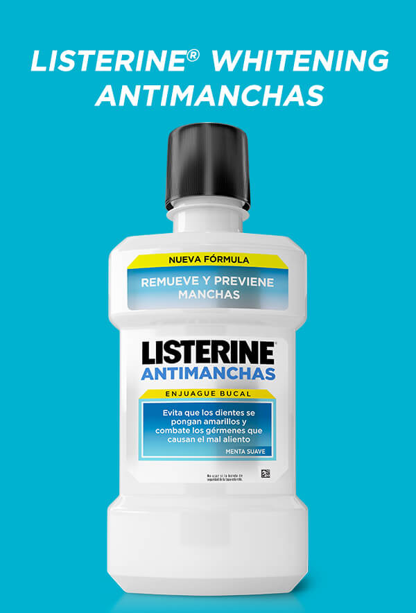 LISTERINE® Whitening Antimanchas