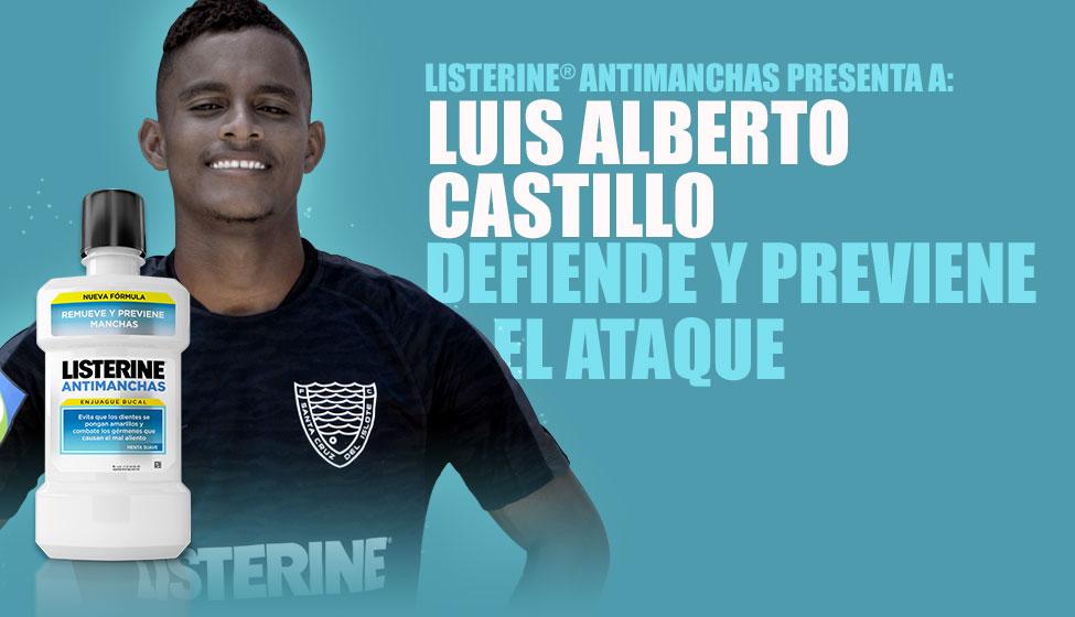 LISTERINE® Antimanchas presenta a: Luis Alberto Castillo defiende y previene el ataque