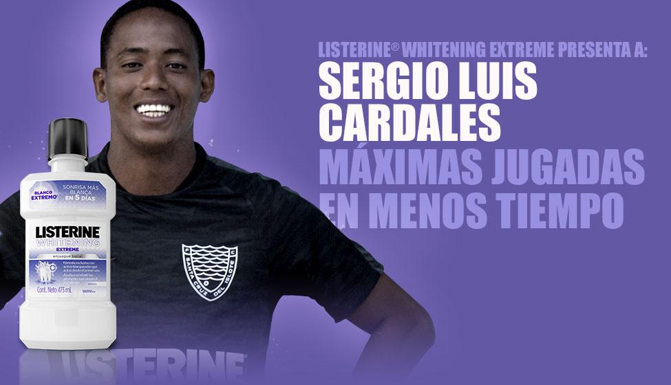 LISTERINE® Extreme presenta a: Sergio Luis Cardales. Máximas jugadas en menos tiempo